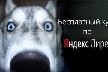 Курс по Яндекс Директ